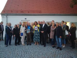 8000. Besucher im Erinnerungsort BADEHAUS - Eine Deligation verschiedener Lions-Clubs